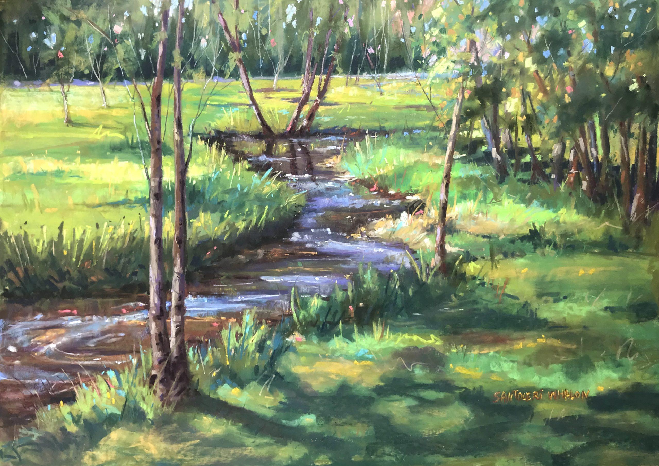 Creekside by Anne Whalen